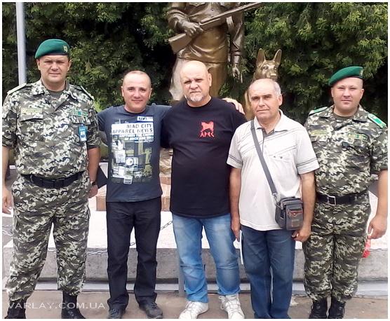 V Чемпионат Государственной пограничной службы Украины по дрессировке служебных собак, 2-5 июля 2013, г. Великие Мосты.