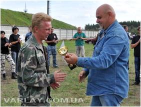 Чемпионат Украины по программе Собака обеспечения общественной безопасности (СООБ) 2012